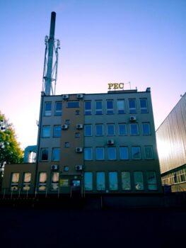 Siedziba PEC Sp. z o.o. przy ul. Lidzbarskiej 33