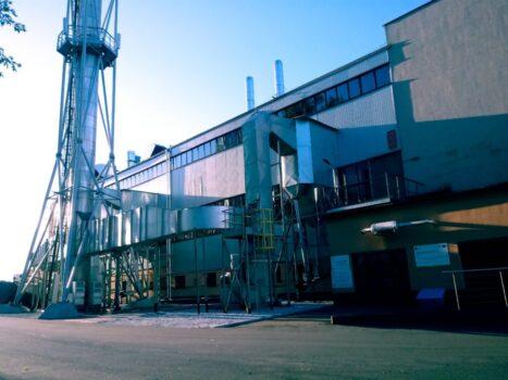 Zmodernizowane układy odpylania, wraz z termomodernizacją budynku ciepłowni przy ul. Lidzbarskiej 33